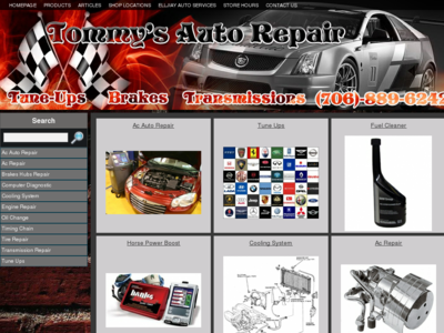 ellijay Tommy's Garage Auto Repair Ellijay GA Autos trucks Cars Ac repair